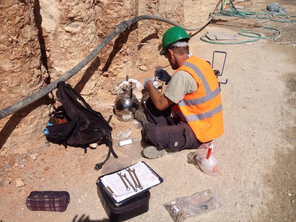 סקר גז קרקע