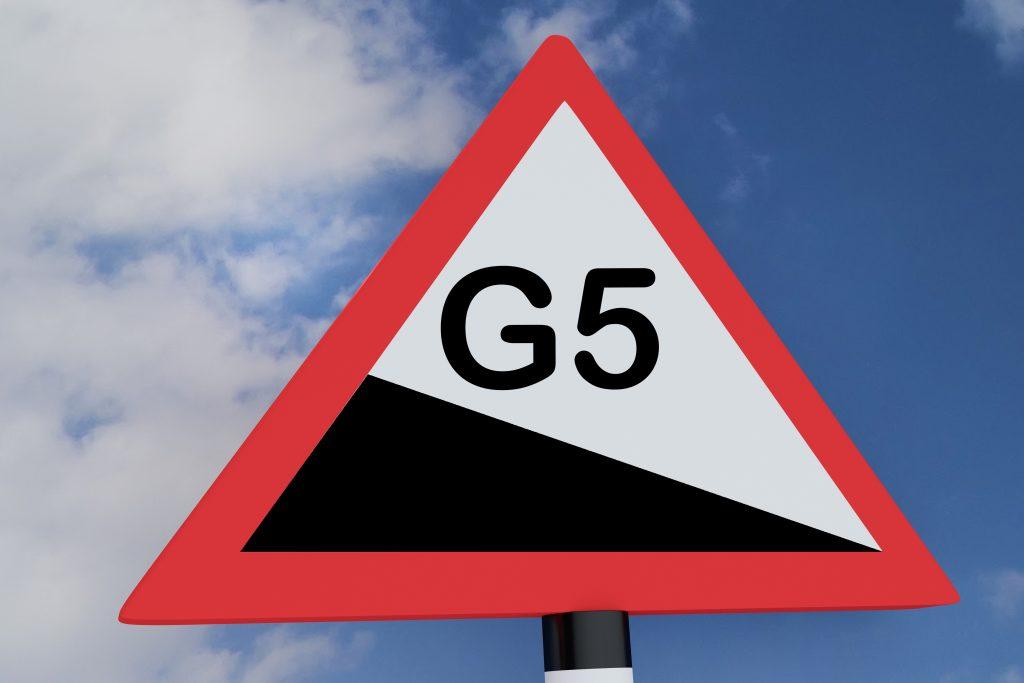 דור חמישי G5 לאנטנות הסלולאריות, האם זה מסוכן ?